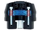 Motorrad Sturzpads X-Pad mit Aufpralldämpfer von Metisse - innovativer Motorradunfall Schutz