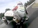 Sugo (Japan) onboard Akira Yanagawa hinter Aaron Slight - SBK 1998