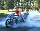 Summ, summ, summ, Dragster summt herum: Weltrekord Electric Drag Bike