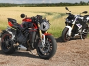 Super Nakeds: BMW S1000R vs MV Agusta Brutale 1000RR by MCN
