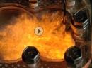 TOP Aufnahmen: Viertaktmotor beim Verbrennungsvorgang in Superzeitlupe
