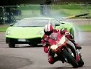 Superbike Aprilia RSV4 vs. Lamborghini LP570-4 Superleggera Auto Express