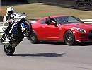 Superbike BMW S1000RR vs Nissan GT-R