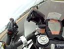 Superbike KTM RC8R onboard Donington Park