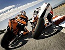 Superbike KTM RC8R Ready to Race Action vom Feinsten
