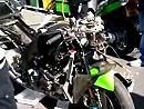 Schandkarren: Superbike Nürburgring 2010 Carlos Checa und Ian Lowry Arbeitsgeräte nach dem Abflug