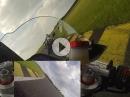 Superbike Rennen Pannoniaring Aprilia RSV4 mit Stardesign