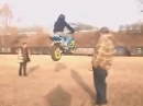 Superbike und sie fliegen doch