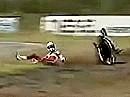 Superbike WM 1991 Anderstorp Schweden - Rennen 1 Zusammenfassung
