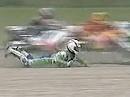 Superbike WM 1993 - Brünn (Brno) (Tschechien) Race 1 Zusammenfassung.