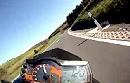 KTM Superduke 990 Aktion im Spessart (Deutschland)