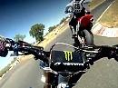 Supermoto onboard - mal ein paar andere Perspektiven mit GoPro HD