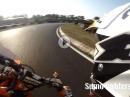Supermoto RaceFun Schaafheim (Odenwaldring) mit KTM SXF 450 by Sumo fighters