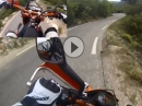 Supermoto Street Racing Col de Espigoulier - Wemsen in Frankreich