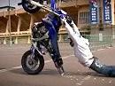 Marat Kandaze - Supermoto Stunt in Russland - sehr geniales Material!