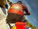 Supermoto Training onboard in La Cala, Benidorm, Spanien - Supermotoland