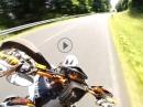 Supermoto Wemser: Sterbfritz - Oberzell mit KTM by Sumo fighters
