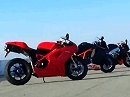Supersportler 2010: Aprilia RSV4 Factory vs. Ducati 1198S vs. KTM RC8R - Motorcyle Shootout