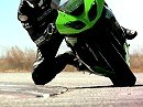 Supersportler 2010er Kawasaki ZX-6R Actionclip
