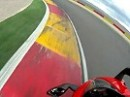 Supersportler Aprilia RSV4 onboard Motorland Aragon - Alcaniz