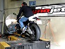 Supersportler BMW S1000RR Dyno Prüfstand