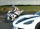 Supersportler BMW S1000RR vs. Geiger Corvette mit 700PS