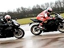 Supersportler Yamaha R6: 2009 vs 2010