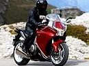 Supertourer Honda VFR1200F - gewaltige 267 kg! Die Details