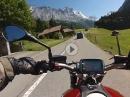 Sustenpass von Innertkirchen zum Steingletscher BMW R nine T