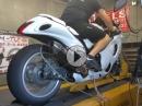 Suzuki Hayabusa auf Nitro - das reisst heftig an