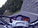 Suzuki GSR 600 Loiblpass Strasse (Hausstrecke) heizen