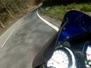 Trier, Quint Bach nach Laufeld in der Eifel mit Suzuki GSX 1400