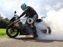 Suzuki GSX-R 1000 K4 Burnout - GoPro Action!!!