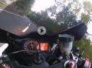 Suzuki GSX-R 1000 K6 artgerecht vorangetrieben - ziemlich flott :-)