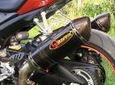 Suzuki GSX-R 1000 mit Akrapovic Full Titanium Geiles Motorrad