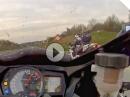 Suzuki GSX-R 1000 vs. Ducati 848 Kurzes Vollgas Spielchen