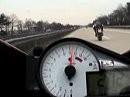 Suzuki GSX-R 1000 vs Yamaha R1 - Autobahn Germany