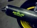 SUZUKI GSX-R 600 + REMUS Carbon Oval (RACING) Auspuff