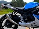 Suzuki GSX-R 7050 Jeskap GP Megafone Sound und Flyby