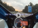 Suzuki GSX-R 750 L4 Top Speed vs Audi Q7 RS (?)