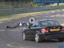 Suzuki GSX-R Crash Nürburgring Nordschleife mit Schutzengel! Das war knapp!
