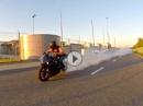 Suzuki GSX-R1000 Testride oder Speed Gummiabrieb. Anders halt ;-)