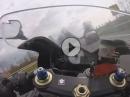 Suzuki GSX-R750 vs. Yamaha R1 - How to Geradeausfahren