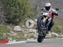 Suzuki GSX-S 1000 - Wheelie, Drift - geiler High Side Test - Würdig!