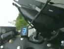 Suzuki Hayabusa Mittelstreifen Crash und dann das ewige schlimme Geräusch