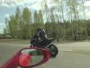 Suzuki Hayabusa Turbo vs Ferrari 458 Italia - winke, winke ... Kanonenkugel