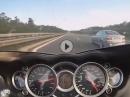 Suzuki Hayabusa vs BMW M5 Highspeed Autobahn