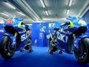 Suzuki MotoGP GSX-RR Dokumentation Valencia 2014