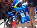 Suzuki MotoGP Motorrad auf der Eicma 2013