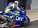 Suzuki MotoGP, Randy De Puniet geiler Sound